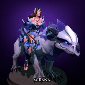 Dragon for Mirana, Dota 2