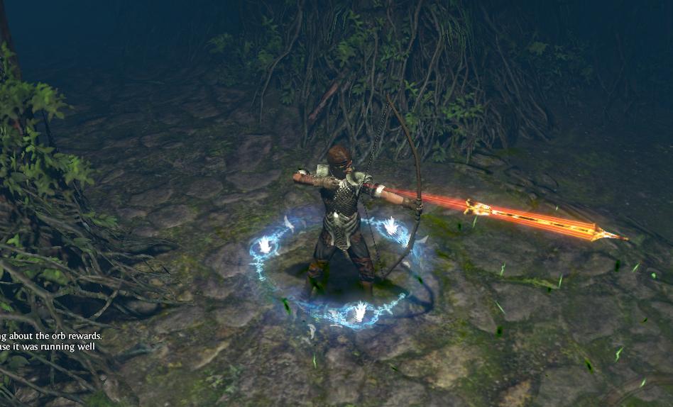 Path of Exile fire arrow