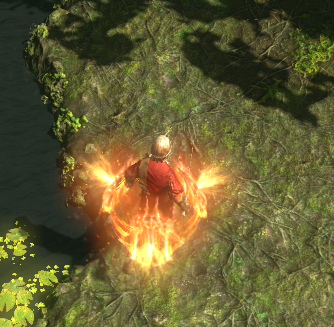 Path of Exile fire shield