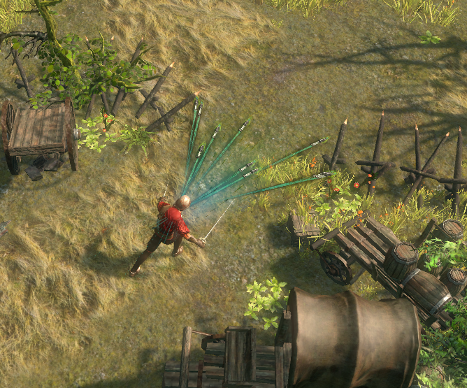 Path of Exile knifes attack
