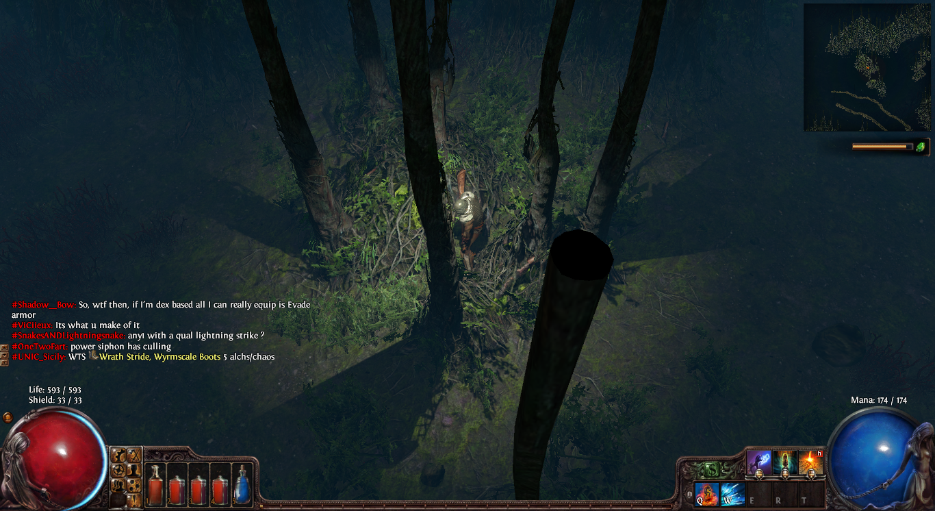 Path of Exile shadows