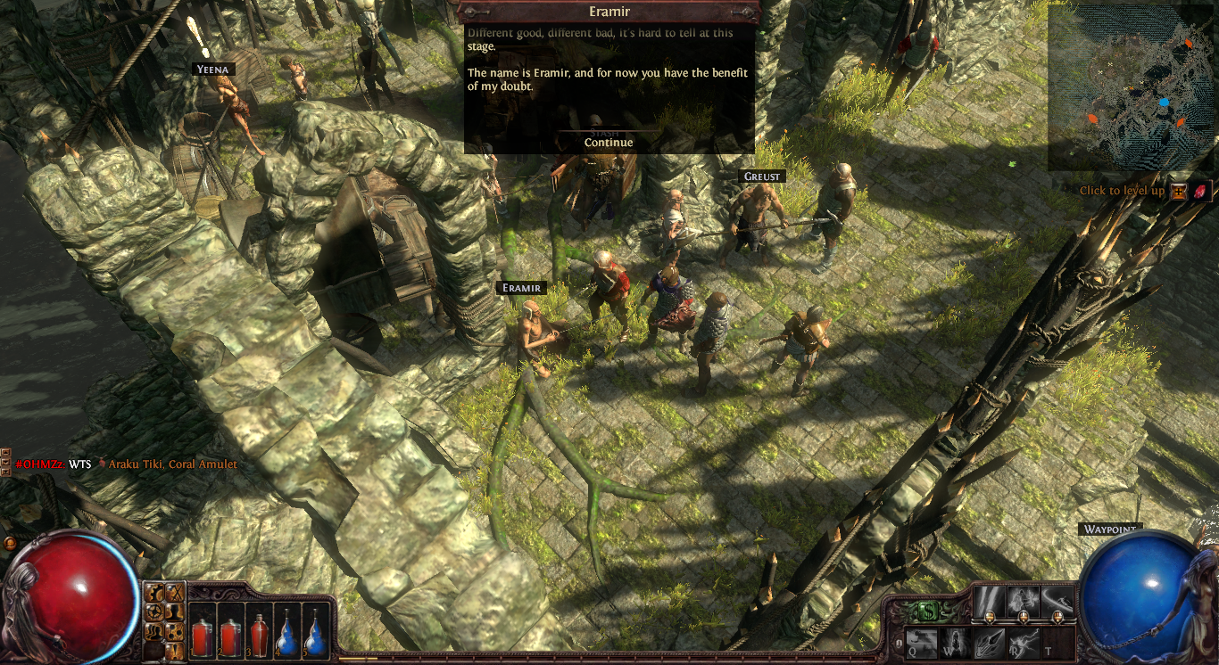 Path of Exile town 2