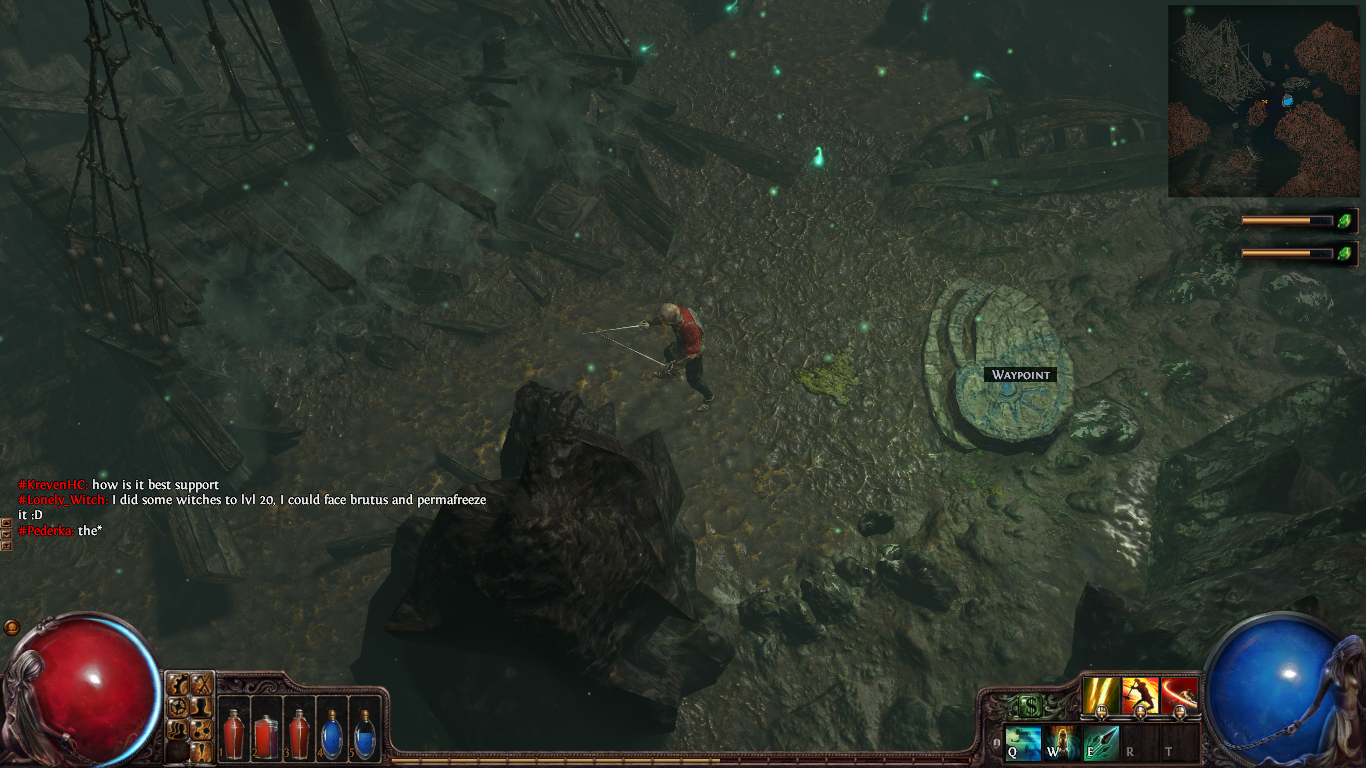 Path of Exile waypoint